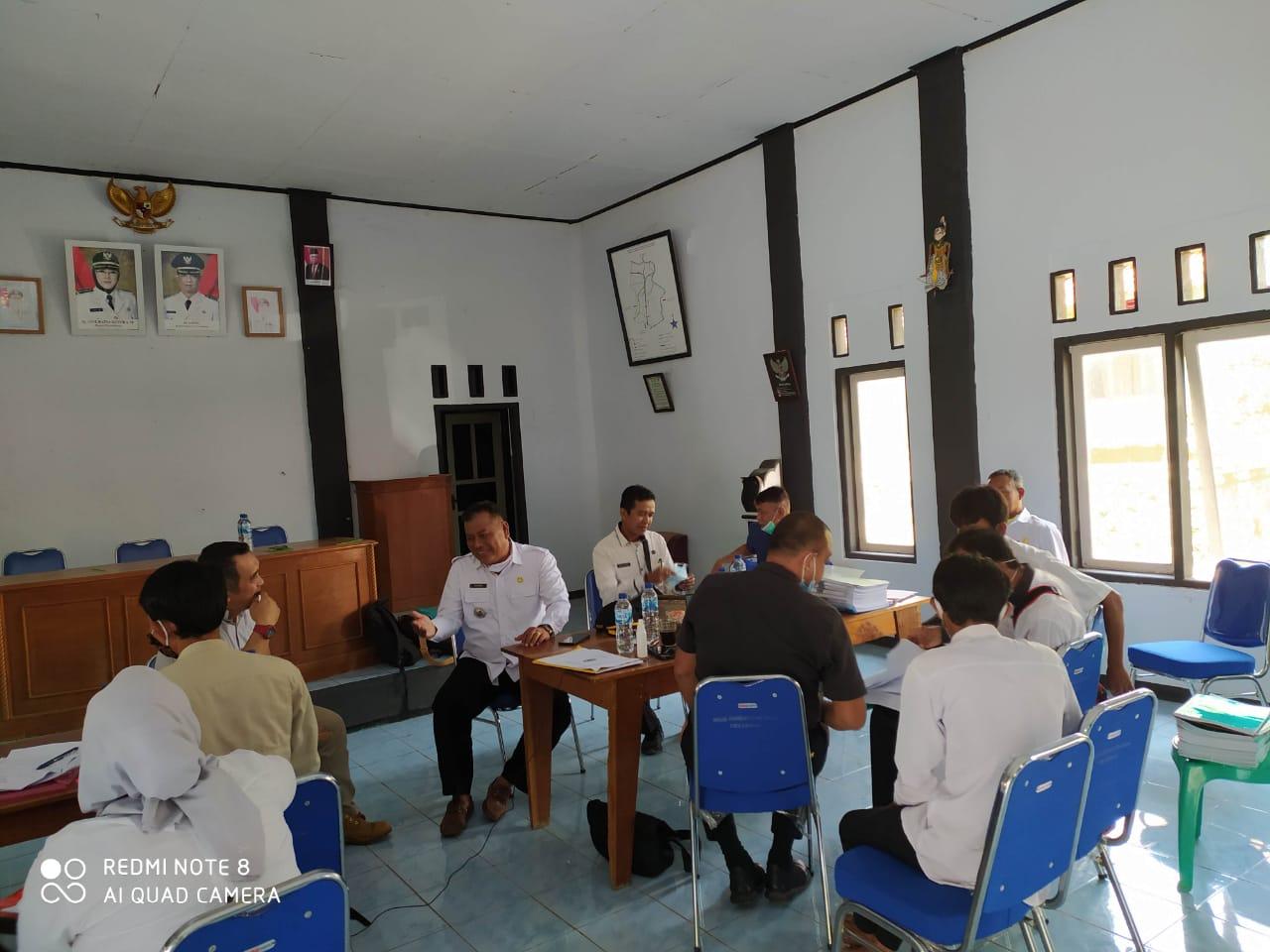 Monitoring Penggunaan Dana Desa Tahp I dan Tahap II Tahun Anggaran 2020